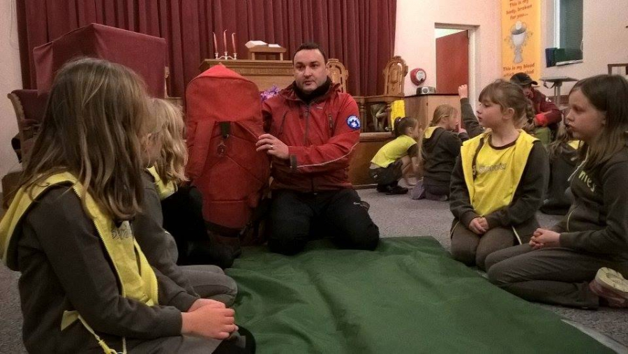 Todmorden Brownies Visit