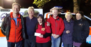 CVSRT & RNLI benefit from generous donation
