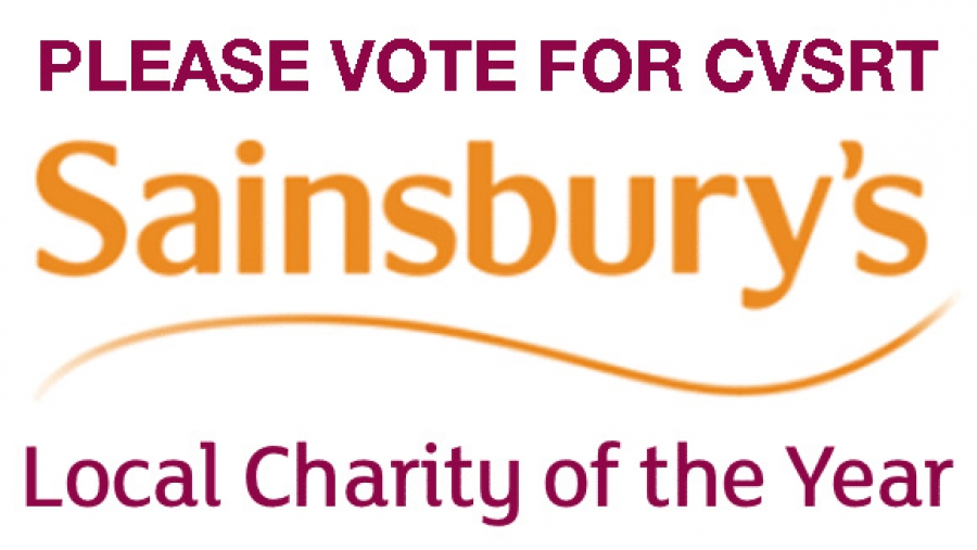 CVSRT shortlisted for Sainsbury's Local Charity of the Year 2017