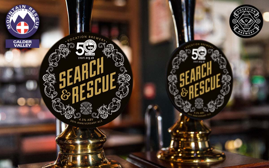 "50th Anniversary Ale ""Search & Rescue"" from Vocation Brewery"