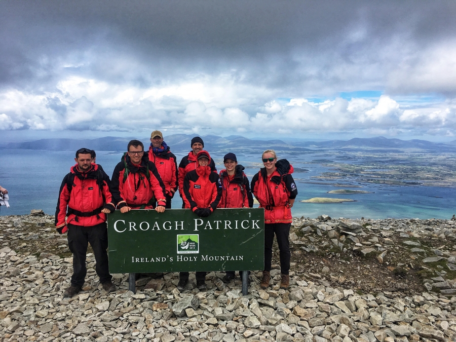 Probationers trip to Croagh Patrick
