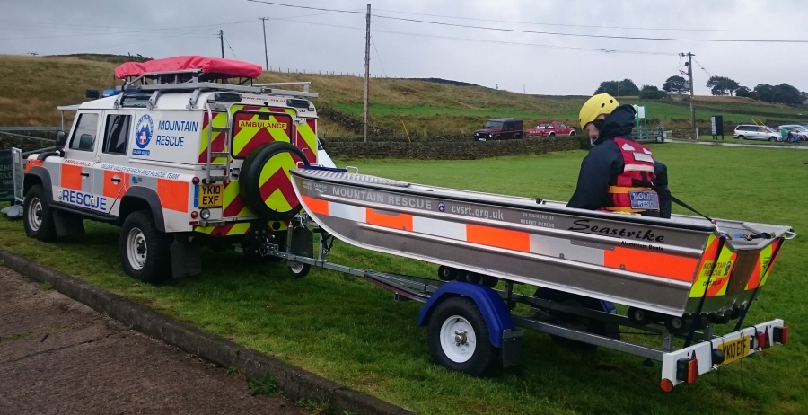 CVSRT invest £13,000 improving flood water rescue capability