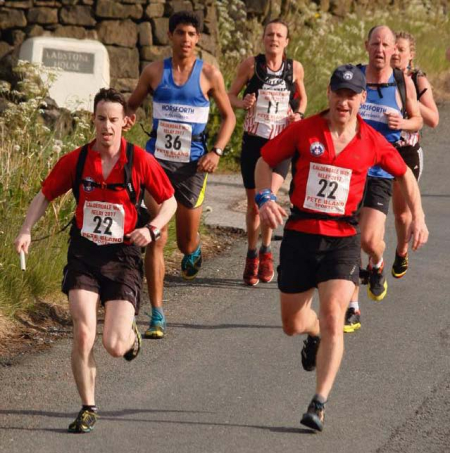 CVSRT vs Calderdale Way Relay