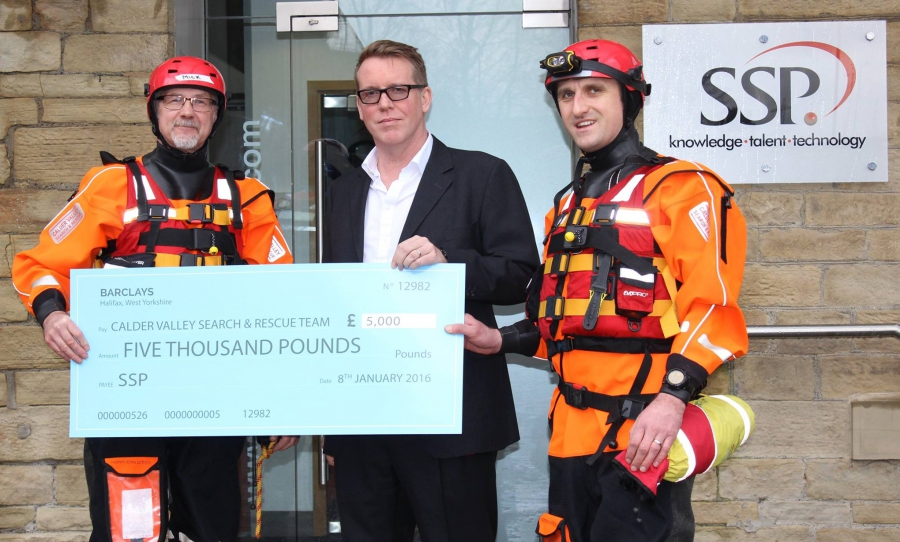 Halifax business supports Calderdale flood relief effort