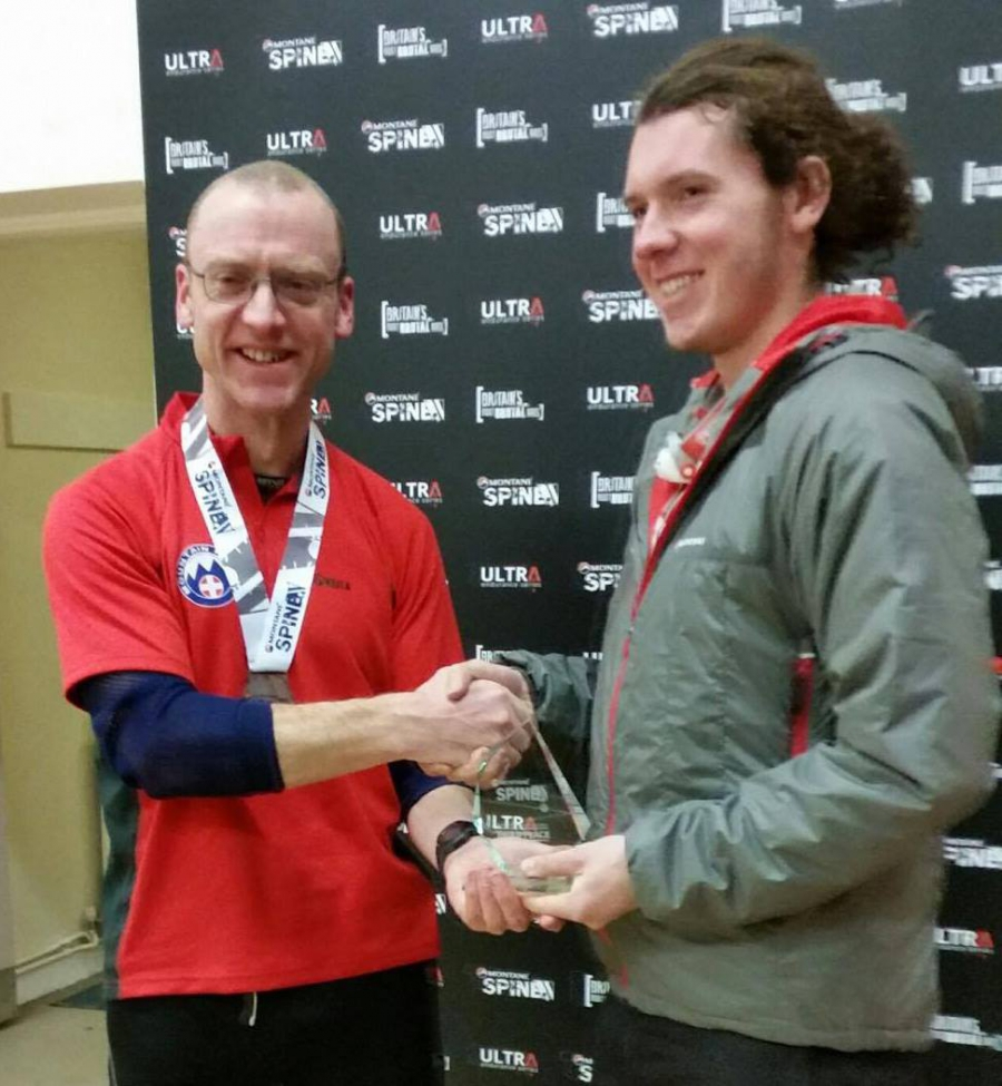 CVSRT Jonothan Wright takes 3rd place on Montane Spine Race Mountain Rescue Challenge