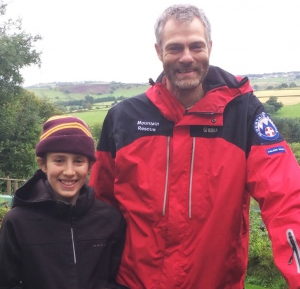 Father and son team up for mountain challenge